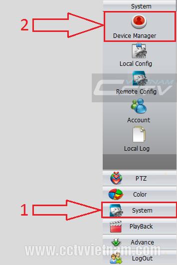 Truy cập đầu ghi hình XMeye bằng phần mềm CMS trên máy tính