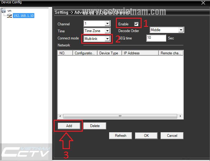 Kết nối camera IP wifi YooSee với đầu ghi hình NVR XMeye | Phân phối